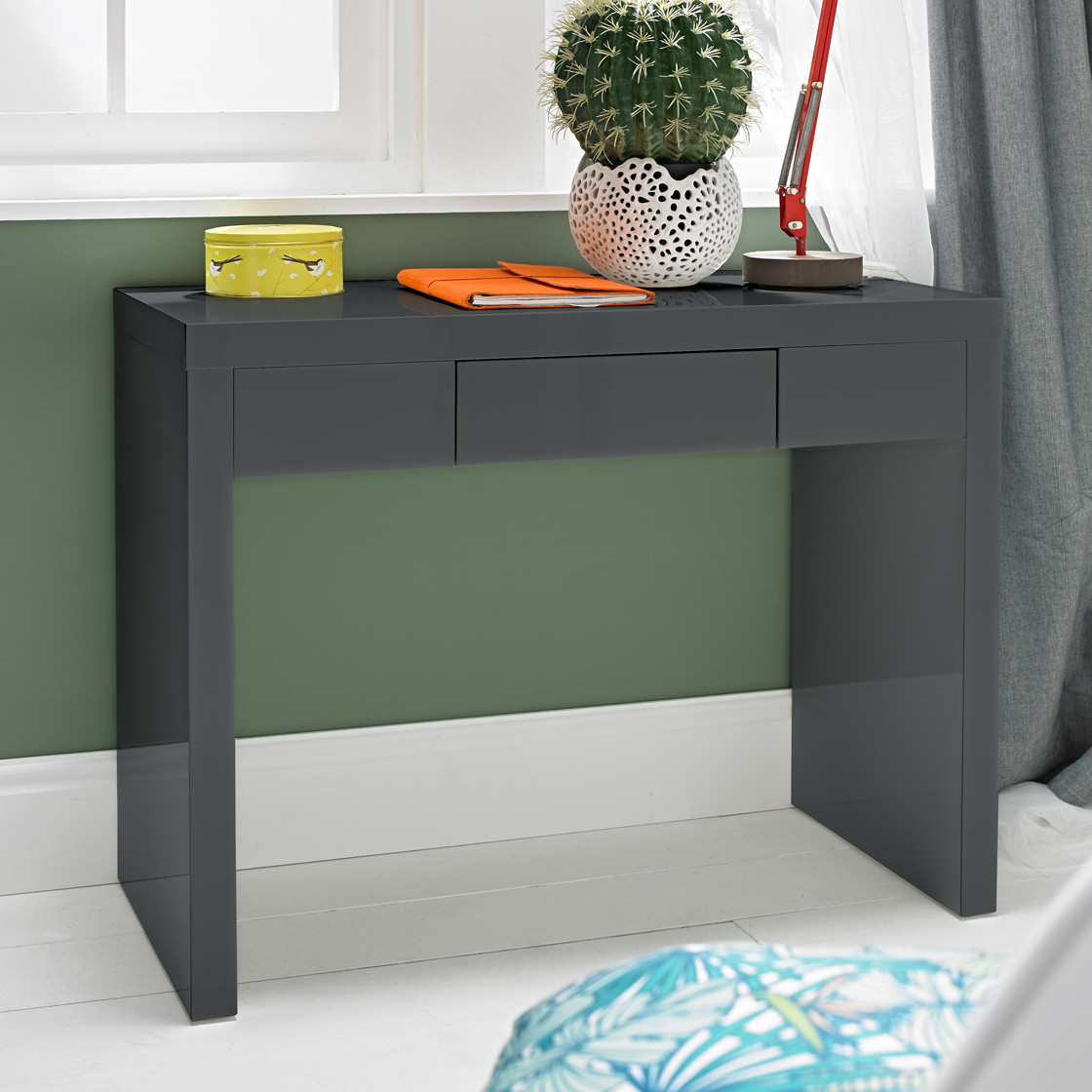 Puro Dressing Table Charcoal
