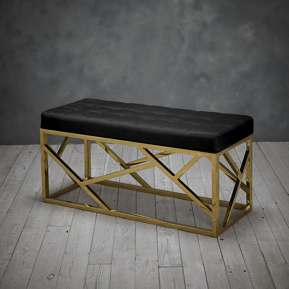 Renata Bench Black
