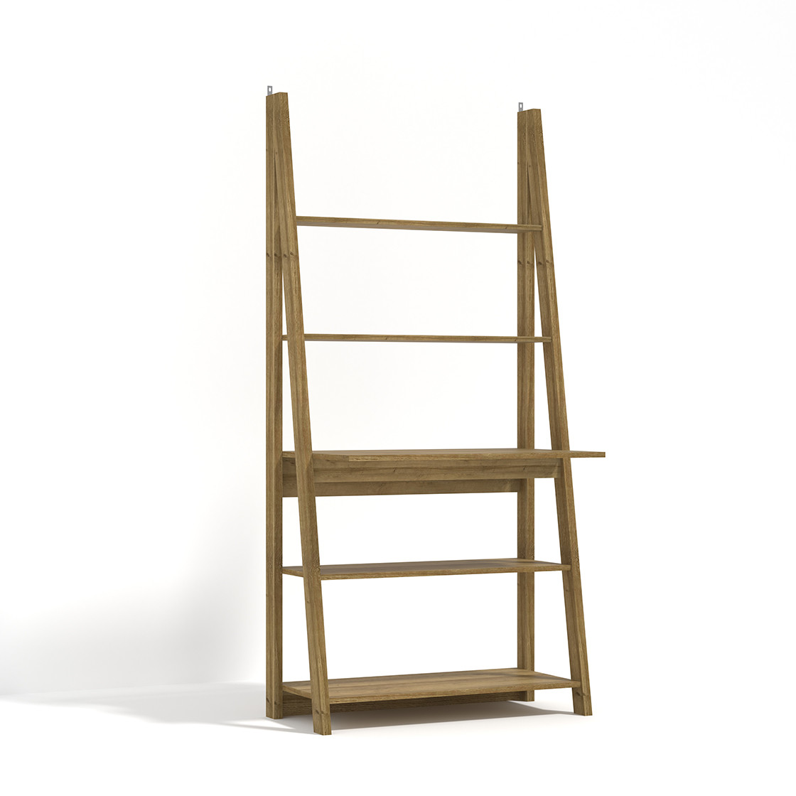 Tiva Ladder Desk Oak