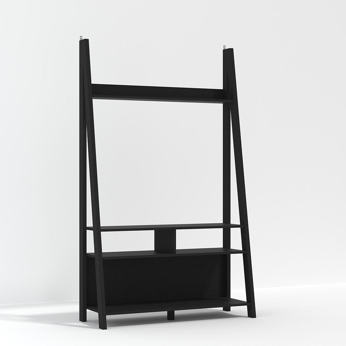Tiva Ladder TV Unit Black
