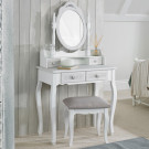 Brittany Dressing Table Base White-Grey