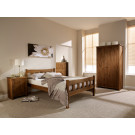 Havana 4.6 Double Bed Pine