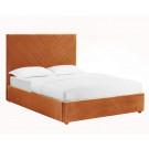 Islington Kingsize Bed Orange