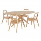 Malmo Dining Table White Oak