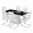 Matrix Dining Table White