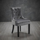 Morgan Chair Grey (Pack Of 2)
