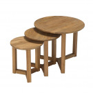 Stow Nest Of Tables Oak