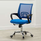 Tate Mesh Back Office Chair Blue
