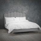 Willow Kingsize Bed Silver