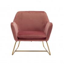 Charles Armchair Vintage Pink