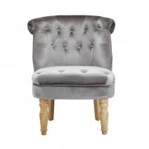 Charlotte Chair Silver
