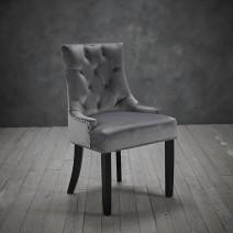 Morgan Chair Grey (Pack Of 2)