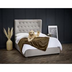 Belgravia Cappuccino Kingsize Bed