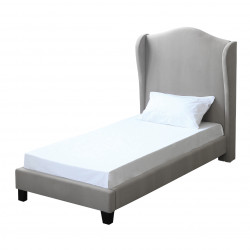 Chateaux 3.0 Single Bed Silver