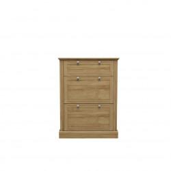 Devon Shoe Cabinet Oak