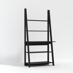 Tiva Ladder Desk Black