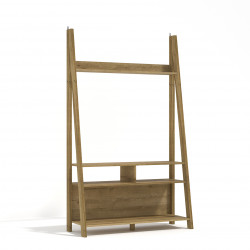 Tiva Ladder TV Unit Oak