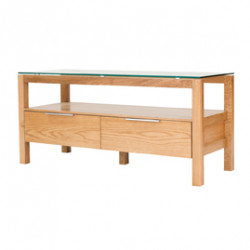 Tribeca TV Unit White Oak