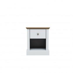 Devon Lamp Table White